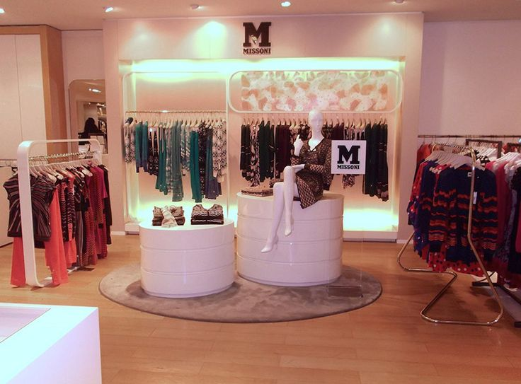 #MMissoni Corner at La Rinascente | #Rome | Summer 2013 Collection