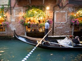 Best way to navigate the maze-like city of Venice? If you've never done it, indulge in a gondola ride.