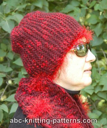 ABC Knitting Patterns - Easy Garter Stitch Hat