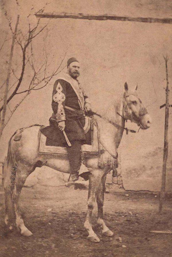 [Ottoman Empire] Nusret Pasha, Army Commander in Aleppo, 1890s (Halep Fırkası Kumandanı Nusret Paşa)