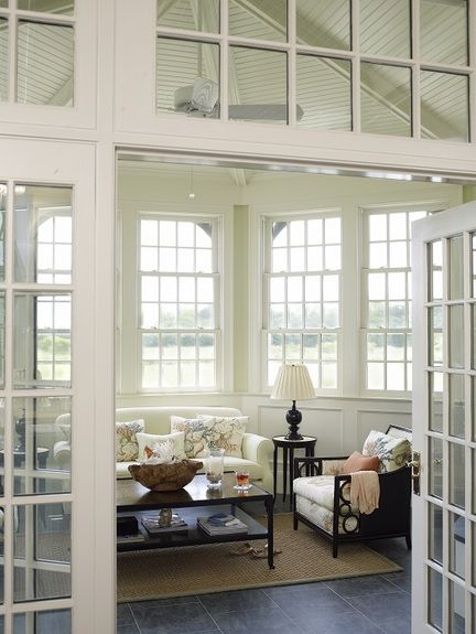 in good taste ken gemes design chic - Sunroom Ideas