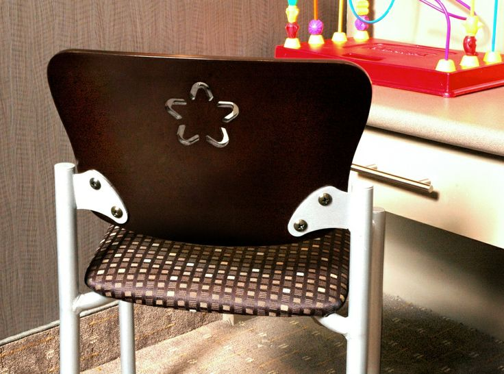Snowflake Chair with Star Cut Out | Spec Furniture
