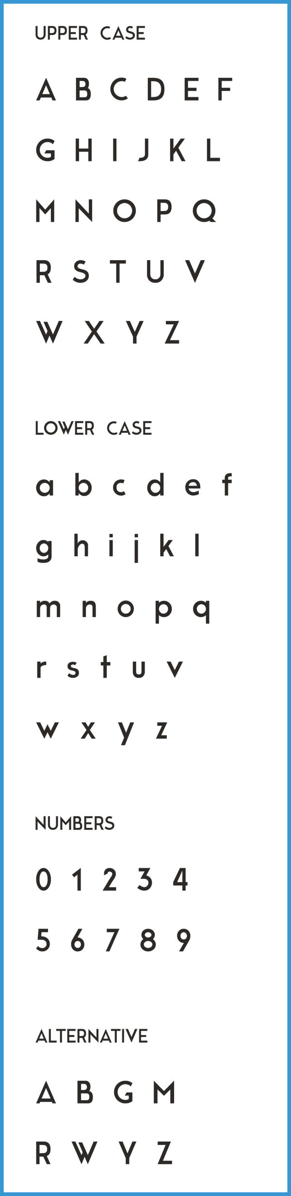 MODERNE SANS | FREE TYPEFACE by Marius Kempken, via Behance #typography