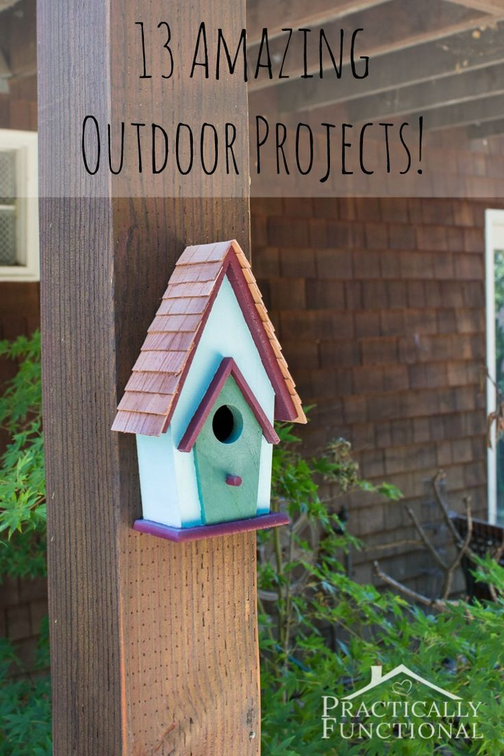 13 Amazing Outdoor Projects! || Practically Functional