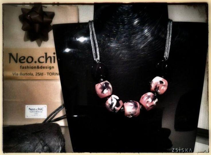 """Oggi nuovi arrivi ZSISKA handmade jewellery. Collana """"Evolution"""" colori rilassanti e di bellezza infinita che aggiungono il tocco perfetto al tuo stile personale."""