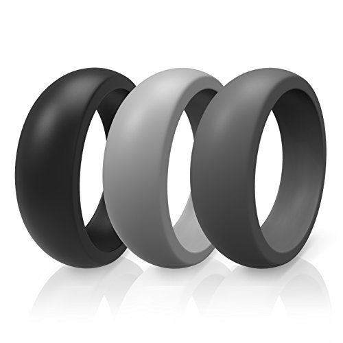 silicon wedding ring silicone wedding band ring 9 by thunderfit weddingring 7370