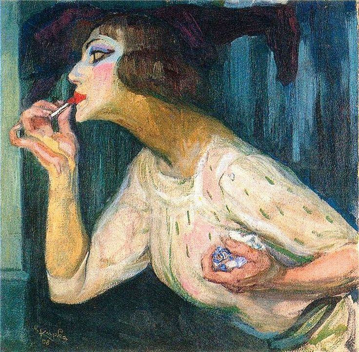 Frantisek Kupka Lipstick. 1908 г.