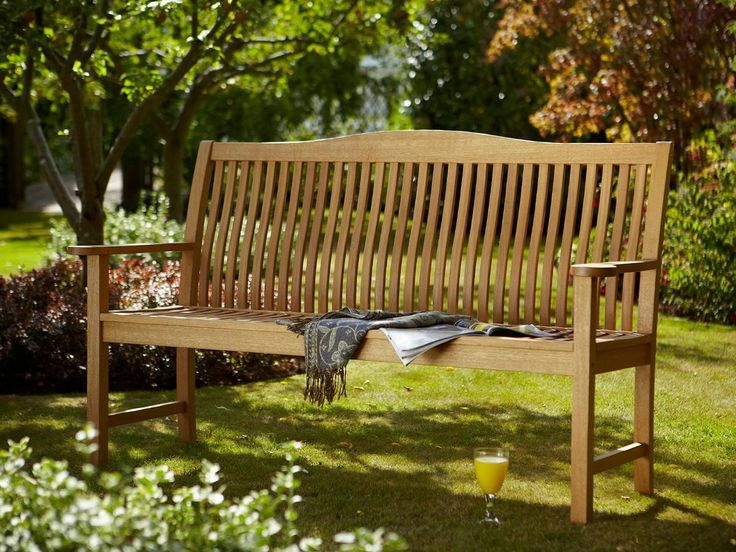Hartman Beckbury 3 Seat Bench With Free Brass Plaque Link: Http://www