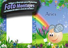 Fotomontajes de Zodiaco Aries