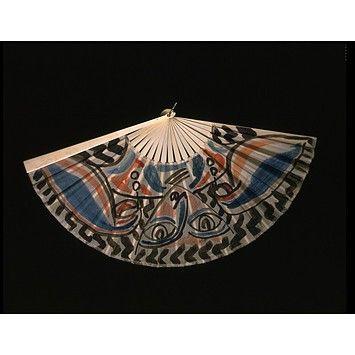 Duncan Grant painted this fan for the Omega Workshops in 1913, it's now in the V & A. The Persephone Post: Fans Creative, Fans Duncan, Victoria Albert Museums, Hands Fans, Duncan Grant, Dresses Accessories, Grant Paintings, Artists Quality, Omega Workshop