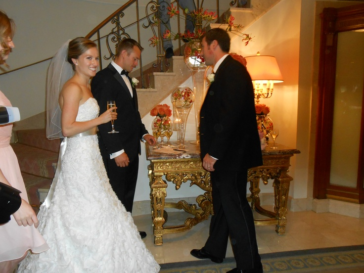 #Maid-of-Honor, and Best Man, witnessing the #marriage certificate that I made for the couple