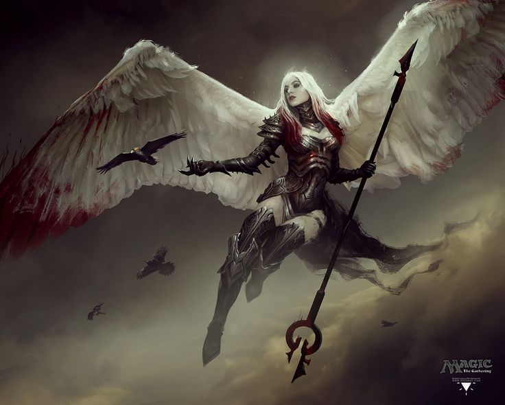Avacyn, Bastien Lecouffe Deharme on ArtStation at https://www.artstation.com/artwork/ZODqR