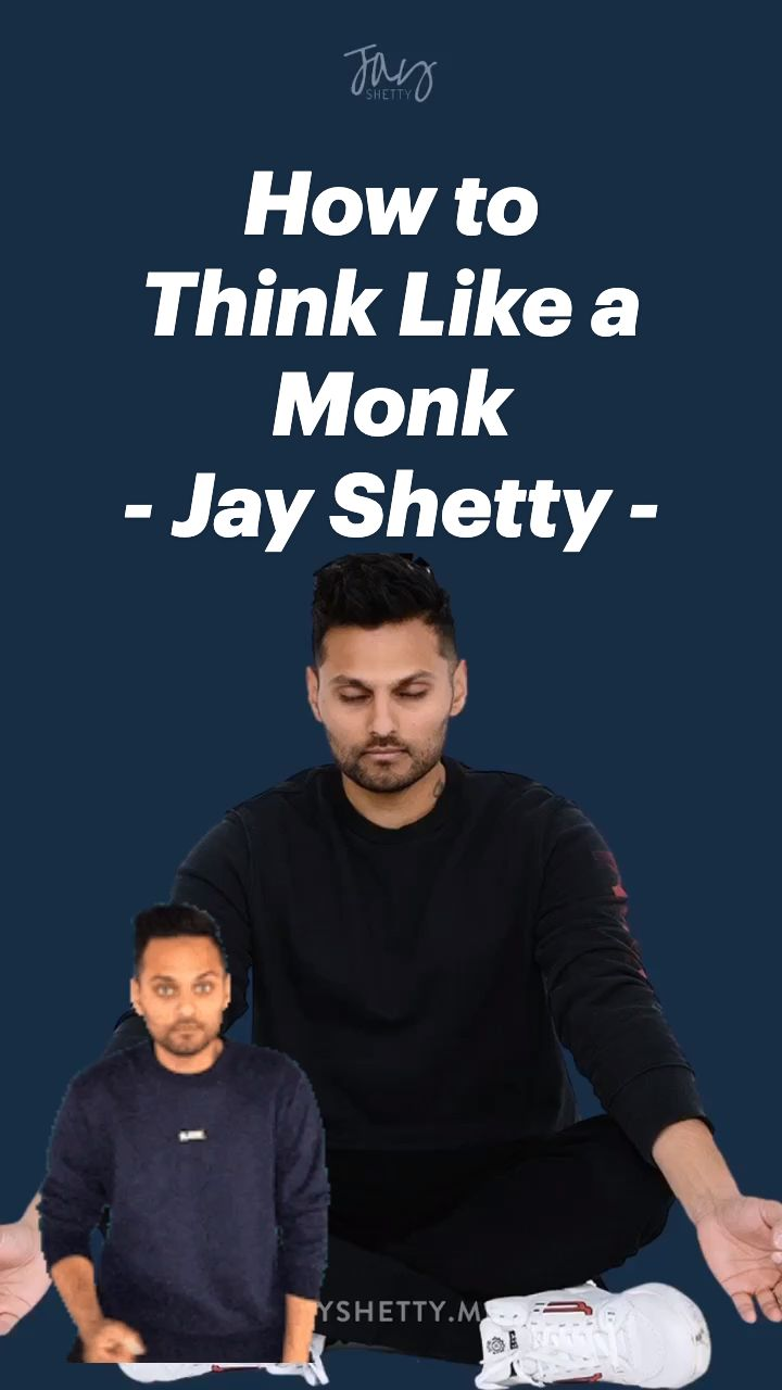How to think like a monk jay shettys first book add