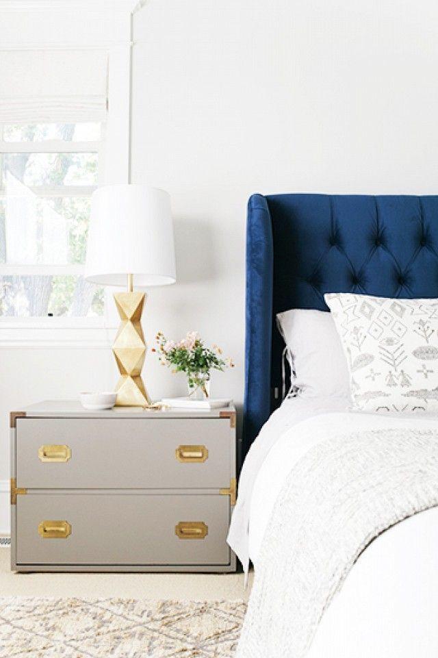 Beautiful vintage reused nightstand design for elegant bedrooms   www.bocadolobo.com #bocadolobo #luxuryfurniture #exclusivedesign #interiodesign #designideas #bedroomdesign #nightstandsideas #bedsidetabledesign #elegantbedroom #nightstanddesign