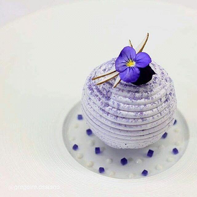 """#gourmet #artofplating Lavender / Coconut / Berries..."""" by foodartchefs"""