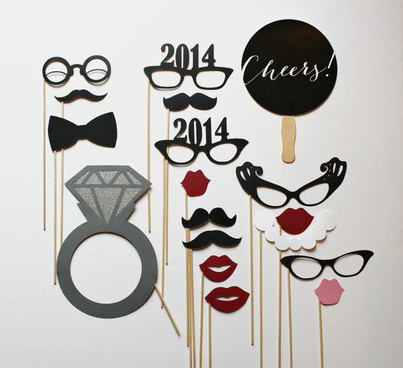 Hey, I found this really awesome Etsy listing at https://www.etsy.com/listing/167827838/2014-engagement-photobooth-props-holiday