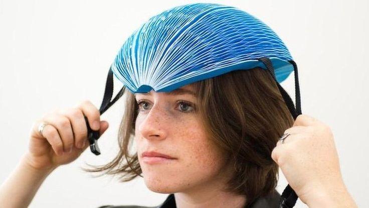 O capacete feito de papel que ganhou um dos principais prêmios de inovação do mundo #timbeta #sdv #betaajudabeta