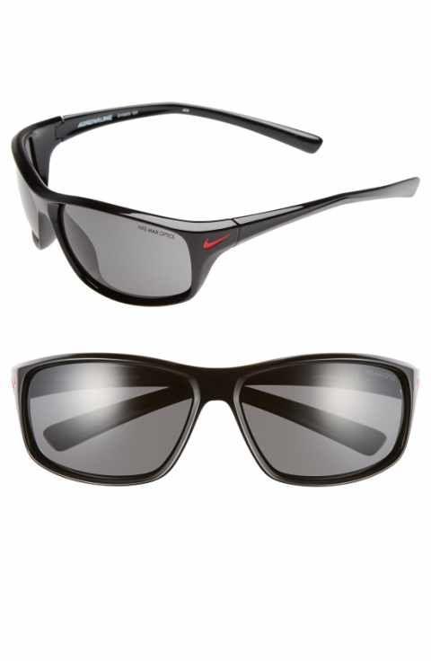 ee9a41eb63 Nike  Adrenaline  64mm Sunglasses