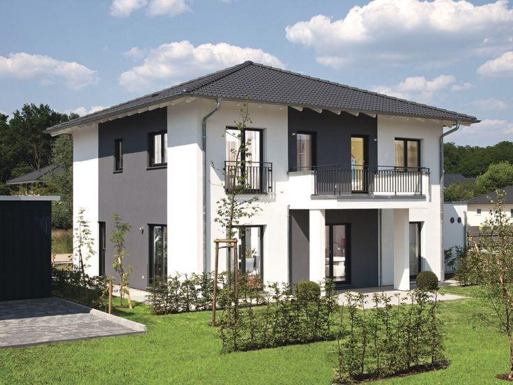 musterhaus citylife 500 stadthaus von weberhaus markantes fertighaus mit unterschiedlichen. Black Bedroom Furniture Sets. Home Design Ideas