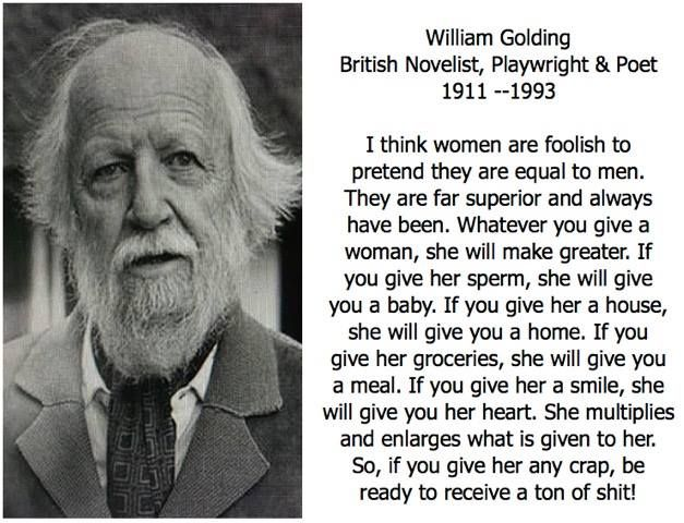 William Golding - https://www.facebook.com/photo.php?fbid=1188430051190228 More
