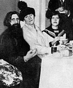 "Maria Rasputina, born Matryona Grigorievna Rasputina (March 27, 1898 – September 27, 1977), was the daughter of the Russian mystic Grigori Rasputin and his wife Praskovia Fyodorovna Dubrovina. Only her mother and her father called her by the name ""Maria"". Following the Russian Revolution of 1917, she wrote several memoirs about her father's life, association with Tsar Nicholas II and Tsarina Alexandra Feodorovna, and murder."