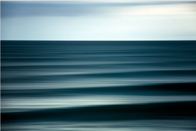 Photographer Warren Keelan: i love the you can still make out that there are waves coming through in this panning of Warrens and i also love the moody colour that he has captured