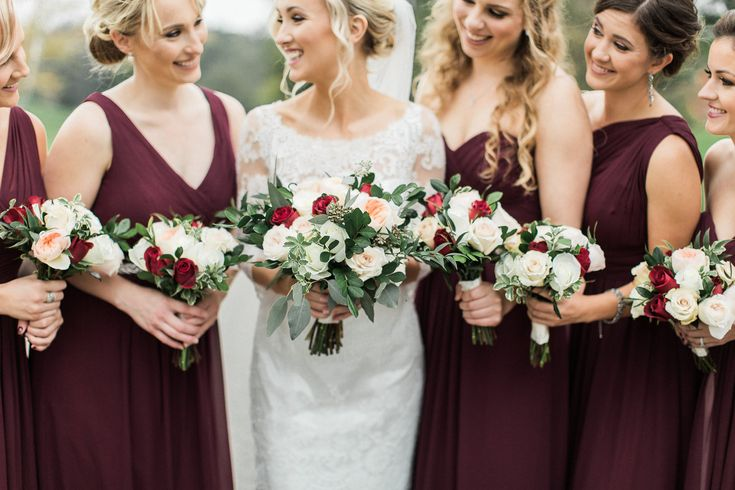 Best 25+ Wine Bridesmaid Dresses Ideas On Pinterest