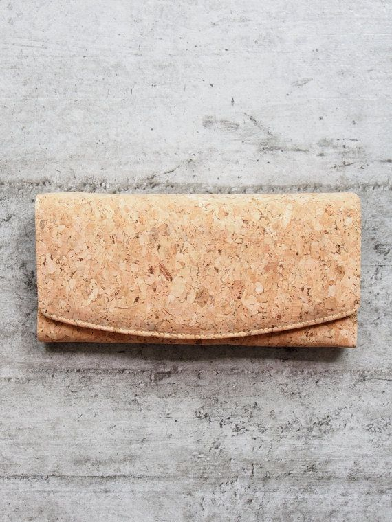 FABRICQ® Eco-friendly handmade cork wallets have a unique texture and eye catching design. They are great accessories to carry around and