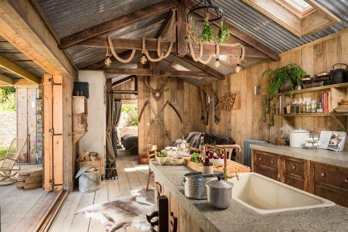 Деревенский шик: яркий пример того, как сделать дачу уютной