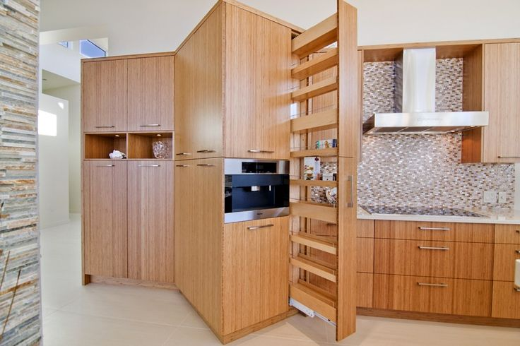 Contemporary kitchen storage