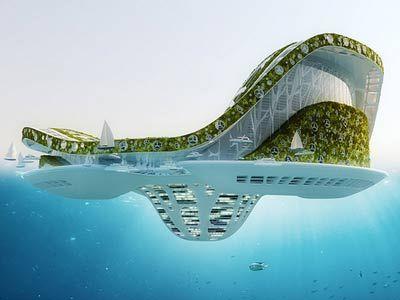 Floating city Bahrain.