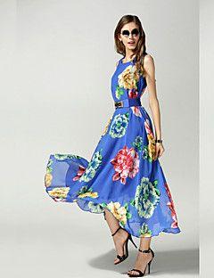 Πεπαλαιωμένο/Καθημερινά Φορέματα - ΓΥΝΑΙΚΕΣ ( Σιφόν ) – EUR € 16.99
