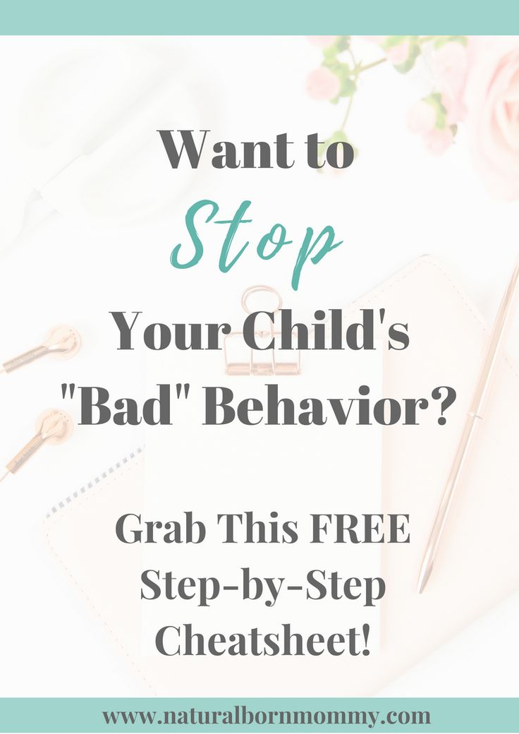 Want to stop your child's bad behavior? This free checklist is a step-by-step guide full of proven child therapist strategies to help you improve your child's behavior and get your kid to listen. Get the FREE cheatsheet here!