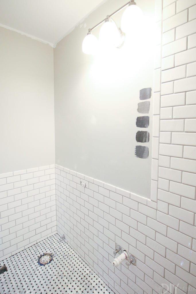 10 Tips For Installing Subway Tile White Bathroom Interior White Bathroom Tiles Bathroom Interior Design