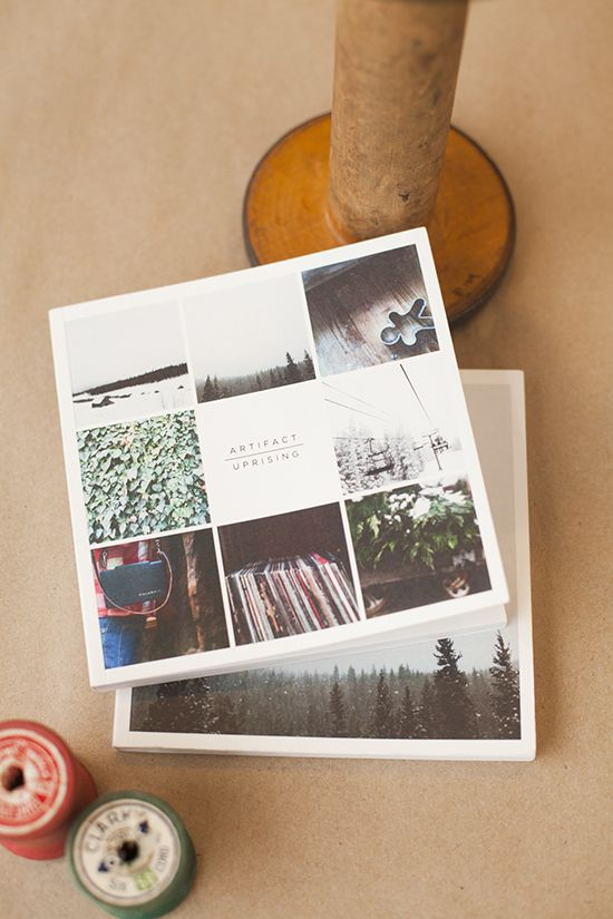 Make your own photo book // Artifact Uprising Book