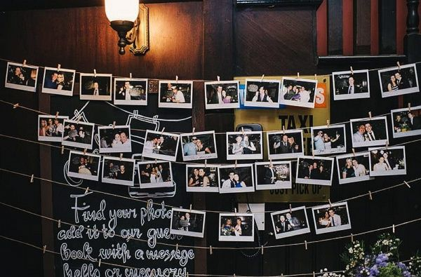 Best 25+ Polaroid Guest Books Ideas On Pinterest