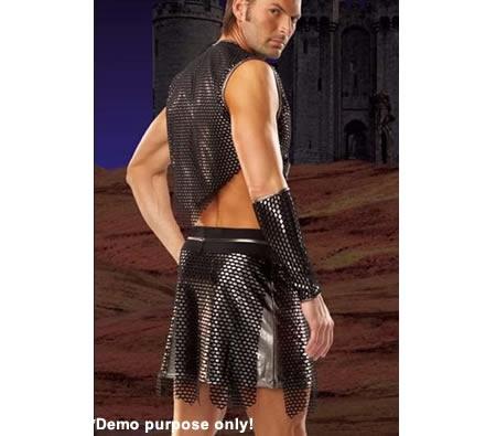 Too much fun - Gladiator Barbarian Warrior costume.