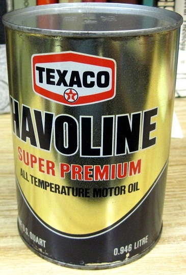 Texaco Havoline Super Premium Motor Oil Petroliana Auto