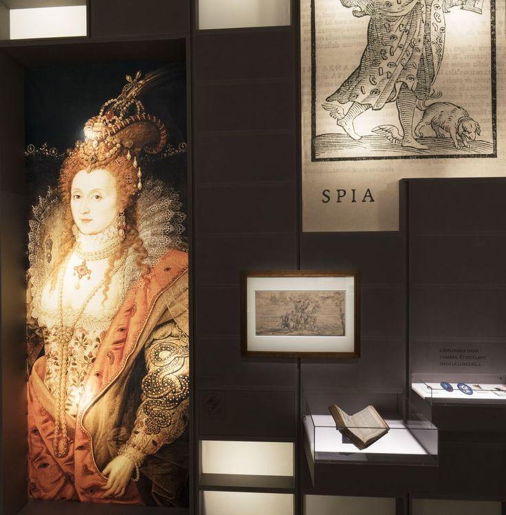 L'exposition « Le secret de l'État : Surveiller, protéger, informer. XVIIe-XXe siècle » est présentée à l'hôtel de Soubise jusqu'au 28 février 2016.  © Archives nationales, pôle images