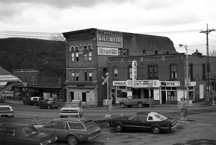 Main Street Granville, NY 1982? Granville NY Pinterest