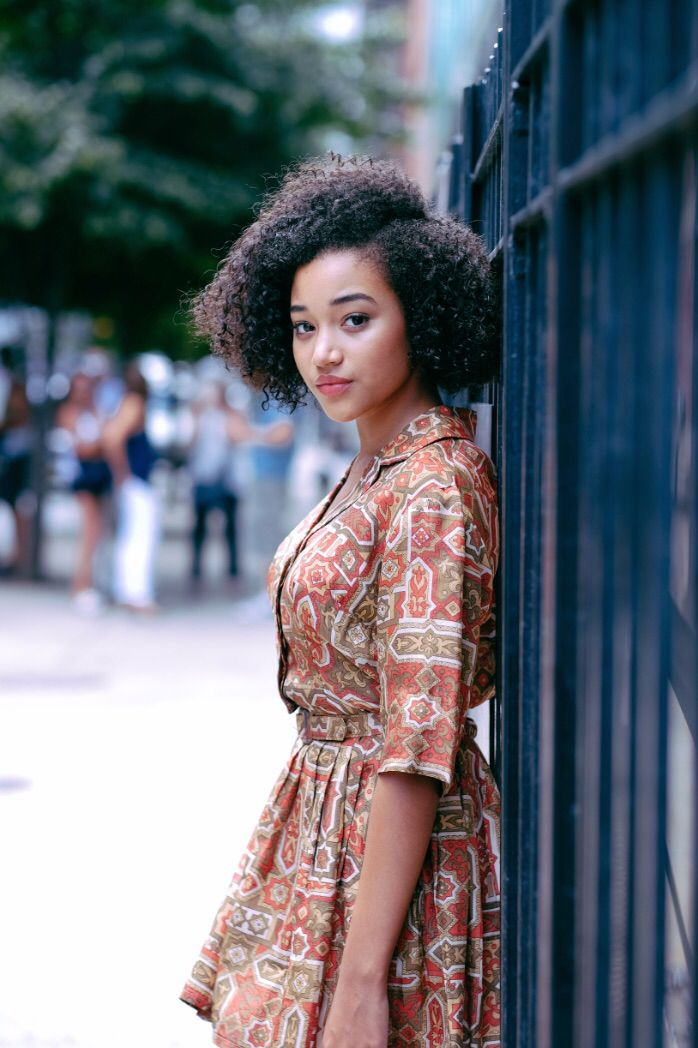 Amandla Stenberg - Incredibly intelligent and aware for her young age, a great role model for young girls