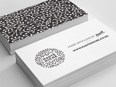 HauteNiche business card
