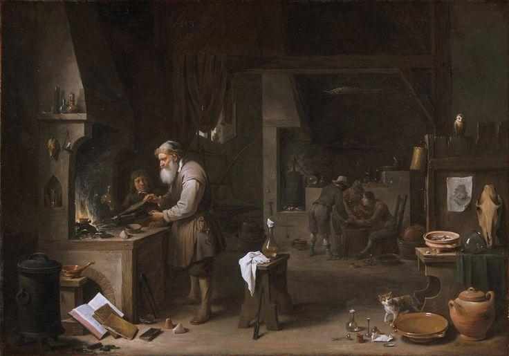 The Alchemist, 1649, David Teniers II