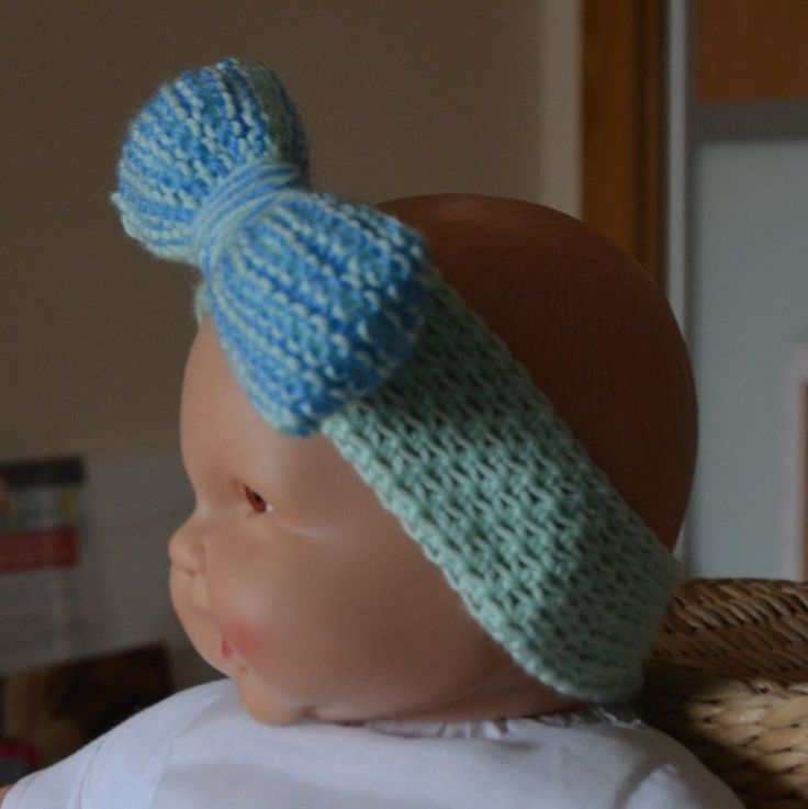 Fita com laço headband with a bow by PatichaCrafts on Etsy