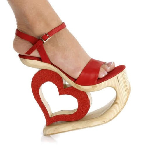 No way I could walk in these