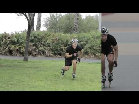 Speed Skating Technique Tips with Jorge Botero #1 - YouTube