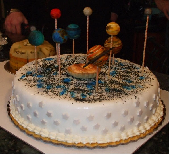 17 Best images about Solar system cakes on Pinterest ...