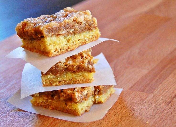 Williams Sonoma pumpkin dessert (or breakfast) squares - pumpkin cake for fall!