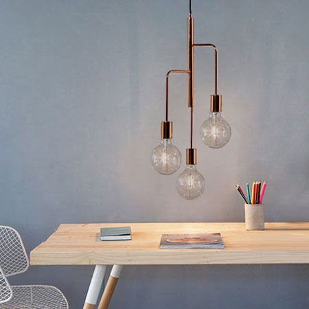 Modernist lighting: 1970s-style Cool Chandelier by Frandsen