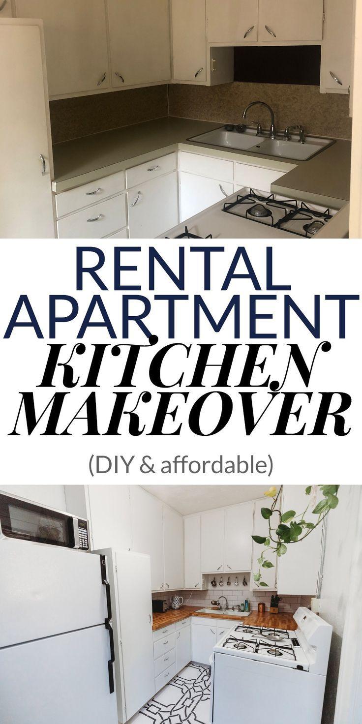My Apartment Makeover Reveal Rental Kitchen Makeover Apartment Makeover Apartment K Apartment Makeover Rental Kitchen Makeover Apartment Decorating Rental
